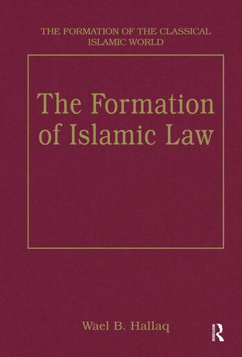 The Formation of Islamic Law book cover