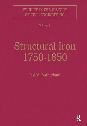 Structural Iron 1750–1850 book cover
