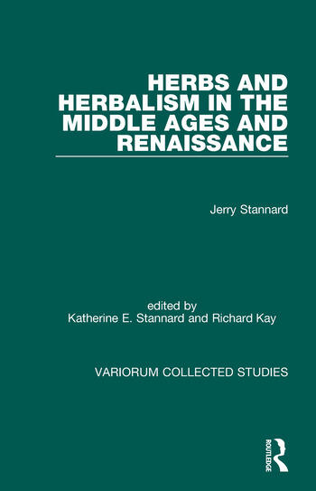 Herbs and Herbalism in the Middle Ages and Renaissance book cover