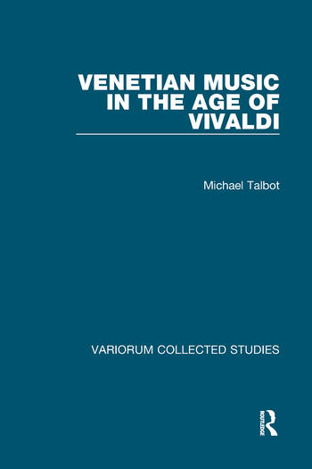 Venetian Music in the Age of Vivaldi book cover