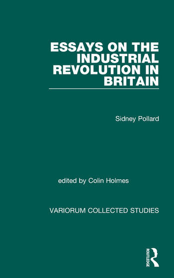 Essays on the Industrial Revolution in Britain book cover