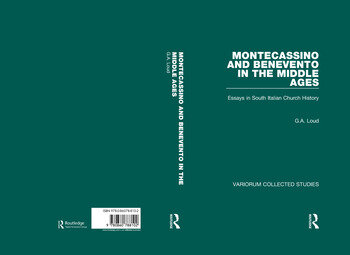 Montecassino and Benevento in the Middle Ages Essays in South Italian Church History book cover