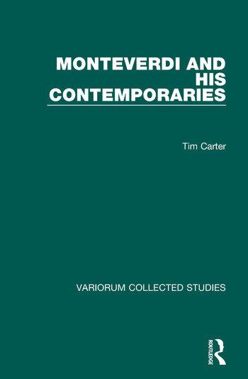 Monteverdi and his Contemporaries book cover
