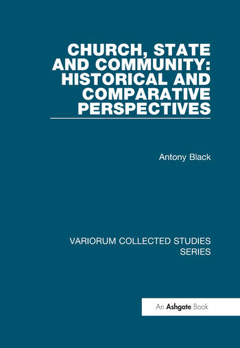 Church, State and Community: Historical and Comparative Perspectives book cover