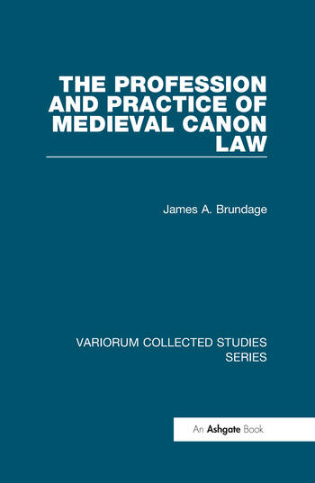 The Profession and Practice of Medieval Canon Law book cover