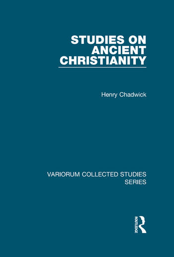 Studies on Ancient Christianity book cover