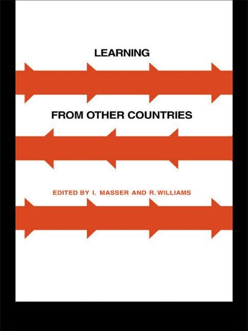 Learning from Other Countries: The Cross-National Dimension in Urban Policy Making book cover