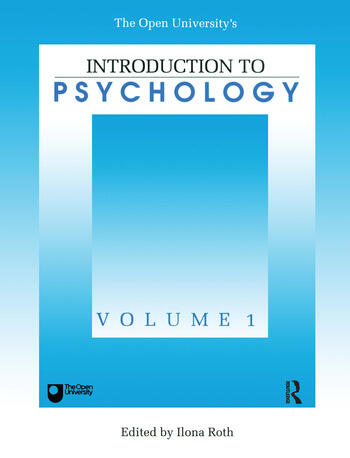 Introduction To Psychology Vol 1 book cover