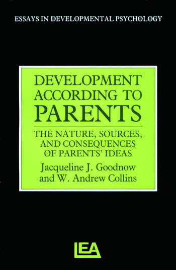 Development According to Parents book cover
