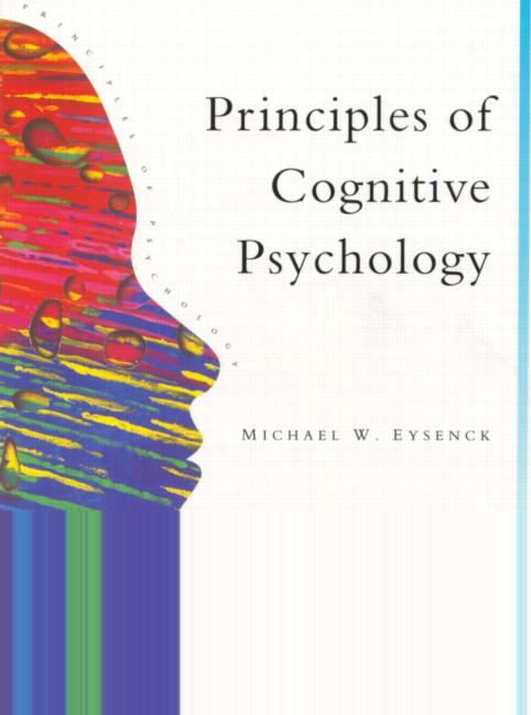 Principles Of Cognitive Psychology book cover