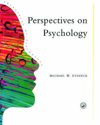 Perspectives On Psychology book cover