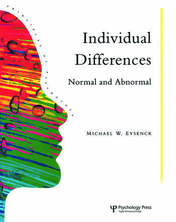 Individual Differences Normal And Abnormal book cover