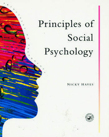 Principles Of Social Psychology book cover