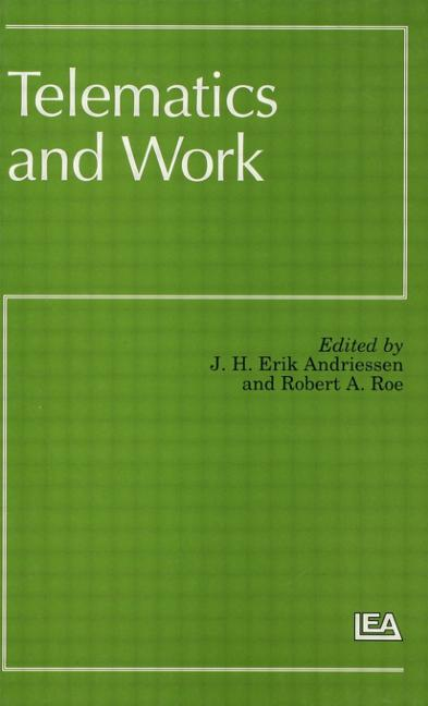 Telematics and Work book cover