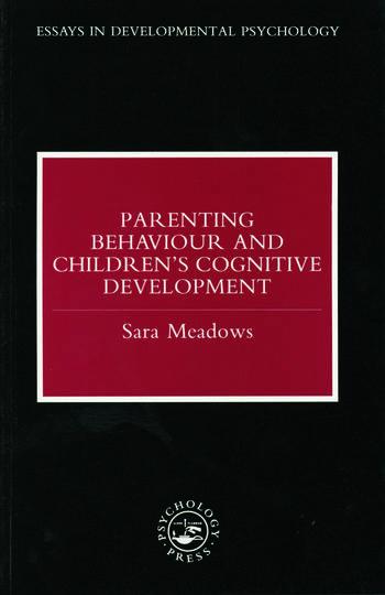 Parenting Behaviour and Children's Cognitive Development book cover