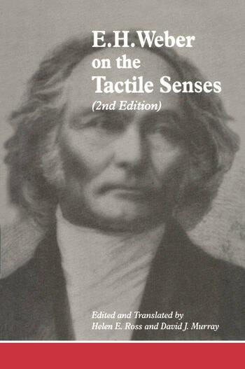 E.H. Weber On The Tactile Senses book cover