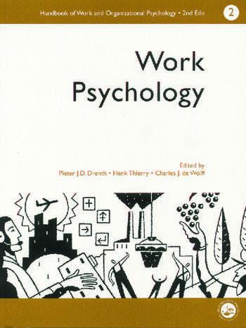 A Handbook of Work and Organizational Psychology Volume 2: Work Psychology book cover
