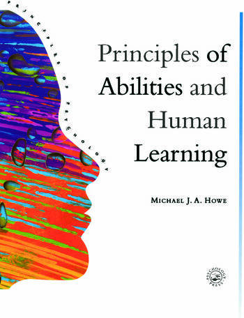 Principles Of Abilities And Human Learning book cover