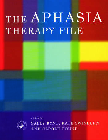 The Aphasia Therapy File Volume 1 book cover