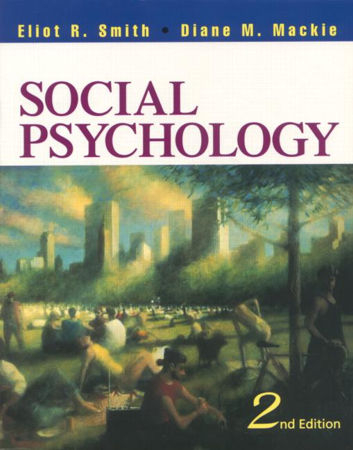 Social Psychology Third Edition book cover