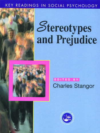 Stereotypes and Prejudice Key Readings book cover
