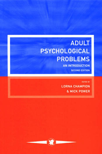 Adult Psychological Problems An Introduction book cover