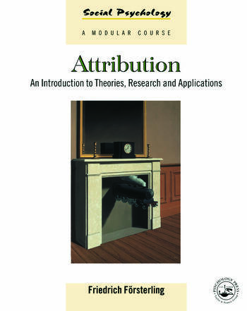 Attribution An Introduction to Theories, Research and Applications book cover