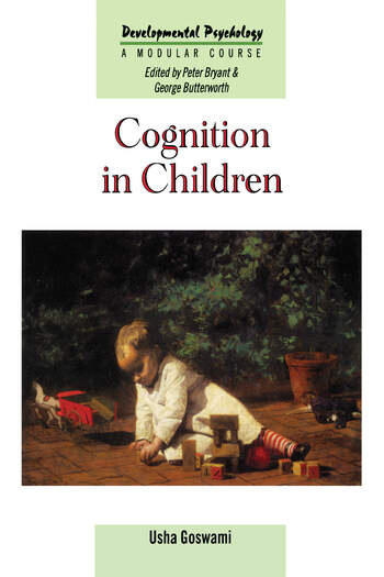Cognition In Children book cover