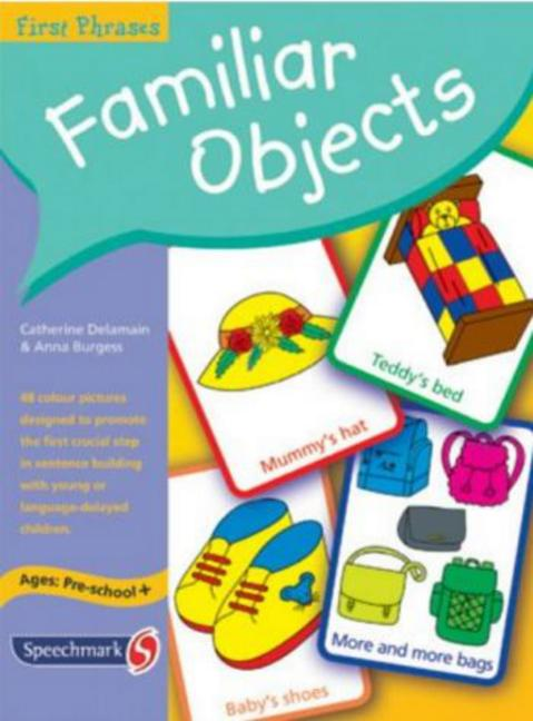 First Phrases Familiar Objects book cover