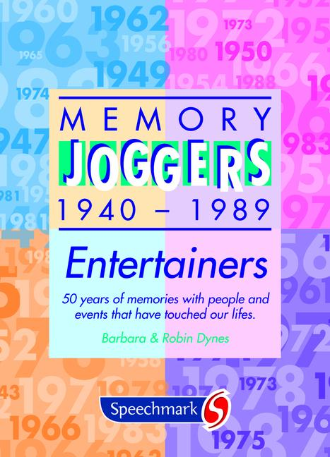 Memory Joggers Entertainers book cover