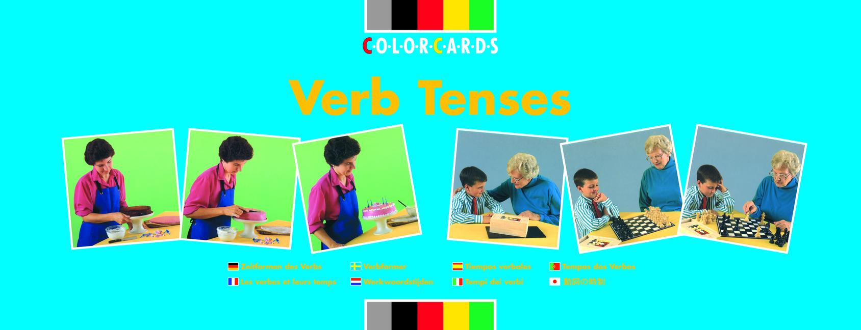 Verb Tenses: Colorcards book cover