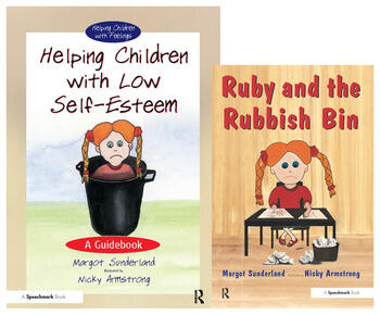 Helping Children with Low Self-Esteem & Ruby and the Rubbish Bin Set book cover