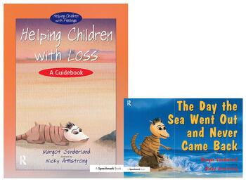 Helping Children with Loss & The Day the Sea Went Out and Never Came Back Set book cover
