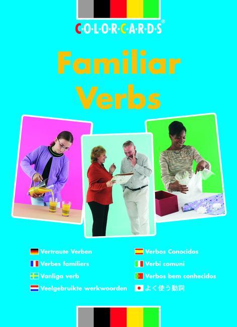 Familiar Verbs: Colorcards In Context book cover