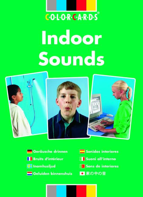 Listening Skills Indoor Sounds: Colorcards book cover