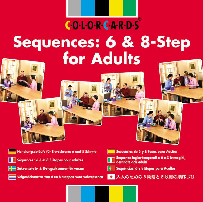 Sequences: Colorcards 6 and 8-step for Adults book cover