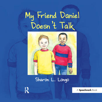 My Friend Daniel Doesn't Talk book cover