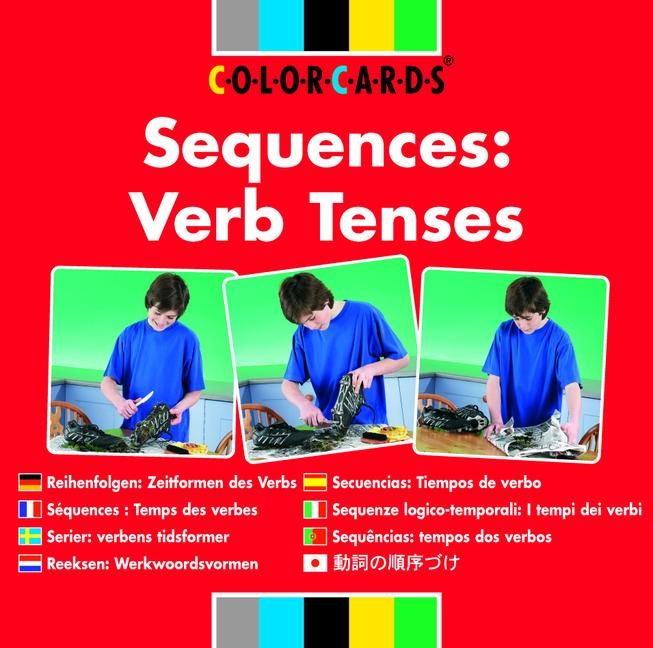 Sequences: Colorcards Verb Tenses book cover
