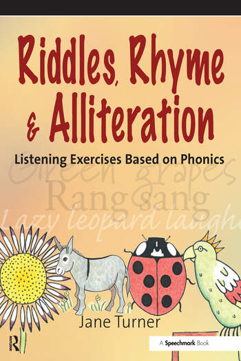 Riddles, Rhymes and Alliteration Listening Exercises Based on Phonics book cover