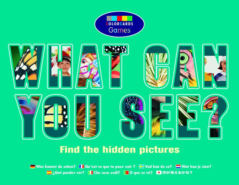What Can You See?: Colorcards book cover