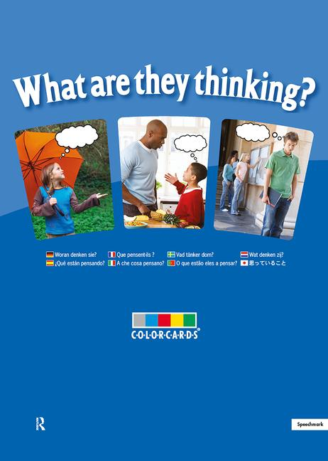 What are They Thinking?: Colorcards book cover