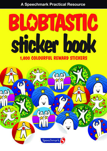 Blobtastic Sticker Book book cover