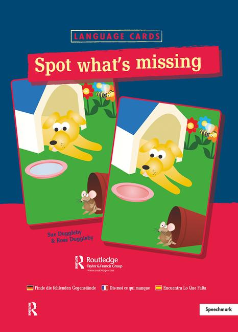 Spot What's Missing? Language Cards book cover