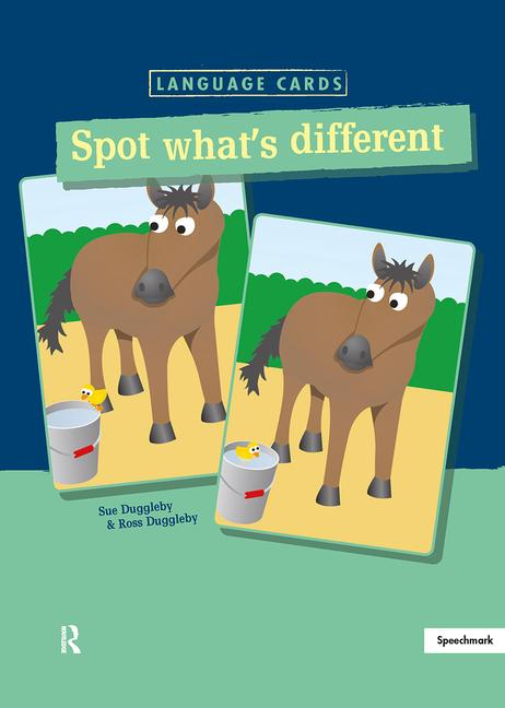 Spot What's Different Language Cards book cover