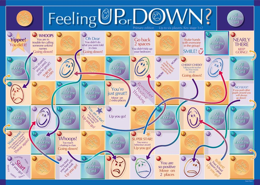 Feeling Up or Down Game Primary book cover