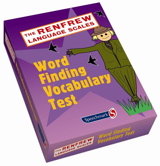 Word Finding Vocabulary Test book cover