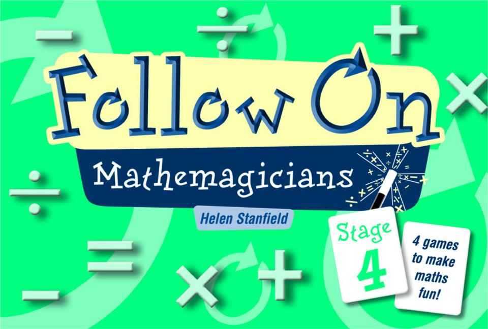 Follow on Mathemagicians Stage 4 book cover