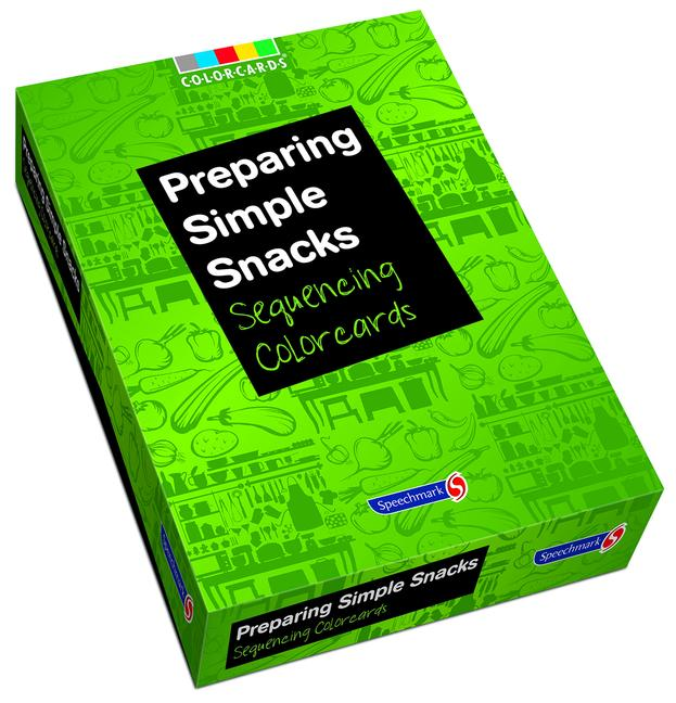 Preparing Simple Snacks: Colorcards Sequencing Colorcards book cover