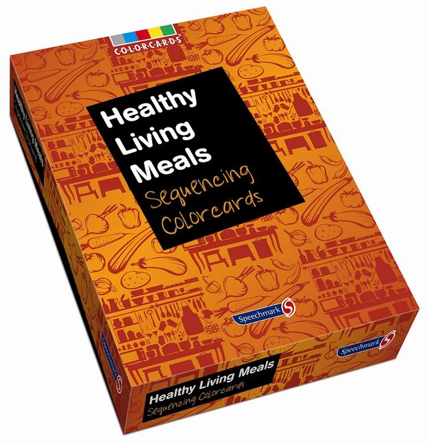 Healthy Living Meals: Colorcards Sequencing Colorcards book cover