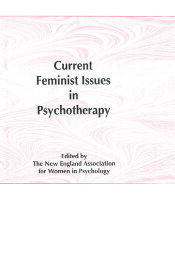 Current Feminist Issues in Psychotherapy book cover